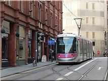 SP0686 : Midland Metro tram - Stephenson Street by Stephen McKay
