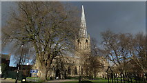 SK3871 : Chesterfield - St Mary's & All Saints Church by Colin Park