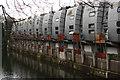 TQ2984 : Grand Union Walk housing terrace, Camden Town by Julian Osley