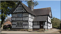 SJ7744 : Old Hall at Madeley, Staffs by Colin Park