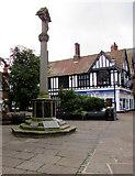 SJ6552 : Nantwich War Memorial by Jaggery