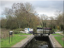TL3909 : Lower Lock, Stort Valley Way by Peter S
