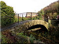 SO2001 : Grade II listed 17th century stone arched bridge, Aberbeeg by Jaggery