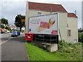 ST3388 : Wimbledon-themed Stella Artois advert, Chepstow Road, Newport by Jaggery