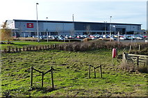 SP7158 : Royal Mail South Midlands Mail Centre by Mat Fascione