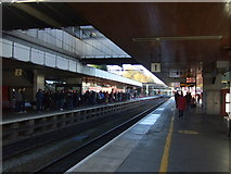 SP3378 : Platforms 1 and 2, Coventry Railway Station by JThomas