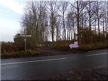 TM2971 : Entrance to Willow Farm by Geographer