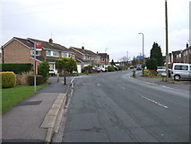 SE2853 : Bus stop on Beckwith Road by JThomas
