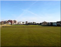 TQ2704 : Hove and Kingsway Bowling Club, Hove by Simon Carey