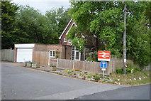 TQ5146 : Entrance to Penshurst Station by N Chadwick