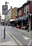 ST1876 : Semi-pedestrianised Quay Street, Cardiff city centre by Jaggery