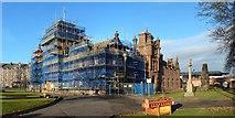NS3975 : Dumbarton Municipal Buildings by Lairich Rig