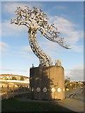 NZ4057 : Riverside sculpture, Sunderland by Graham Robson