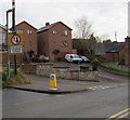 SO6417 : Give way to oncoming vehicles, Hawthorn Road, Drybrook by Jaggery