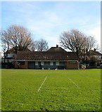 TQ2704 : Changing Rooms, Aldrington Recreation Ground (Wish Park), Hove by Simon Carey