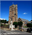 SX9984 : West side of Lympstone Parish Church by Jaggery