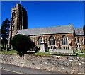 SX9984 : South side of Lympstone Parish Church by Jaggery