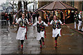 TQ3380 : Morris Dancing on the South Bank by Peter Trimming