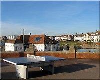 TQ2704 : Table tennis, Hove Lagoon by Simon Carey