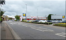 TL4196 : Lidl store on Dartford Road in March by Mat Fascione