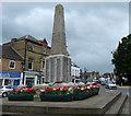 TL4196 : War memorial on Broad Street, March by Mat Fascione