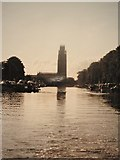 TF3244 : St Botolph's Church from the River Witham 1993 by Nick Goodey