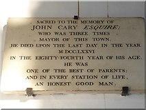 TF6120 : St Nicholas' Chapel, King's Lynn: memorial (19) by Basher Eyre