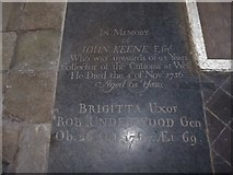 TF6120 : St Nicholas' Chapel, King's Lynn: memorial (33) by Basher Eyre