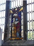 TF6120 : St Nicholas' Chapel, King's Lynn: stained glass window (3) by Basher Eyre