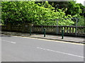 SZ0891 : North side of St Stephen's Road bridge, Bournemouth by Jaggery