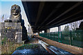 SH5470 : Underneath Britannia Bridge by Oliver Mills