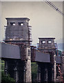 SH5371 : Britannia Bridge - after the 1970 fire by David Victor Mills