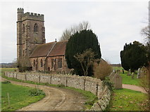 SJ6327 : The Church of St Peter at Stoke on Tern by Peter Wood