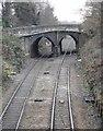 SJ7786 : Ashley Road Bridge by Richard Sutcliffe