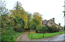 ST7881 : White Gate Lodge, The Verge Wood, Badminton, Gloucestershire  2015 by Ray Bird