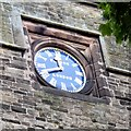 SJ8391 : Christ Church clock (South face) by Gerald England