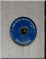 ST2489 : Royal British Legion name plaque, Risca by Jaggery