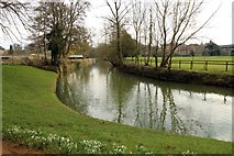 SP5105 : The River Cherwell in Oxford by Steve Daniels