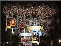 TQ3081 : Mountbatten Street Christmas lights by Oast House Archive