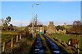 SE1033 : Access Lane leading to Upper Hoyle Ing by Chris Heaton