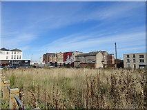 NZ4057 : Derelict site on Villiers Street by Robert Graham