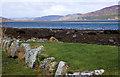 NH7995 : Looking up Loch Fleet by Jon Alexander