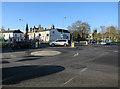TL8563 : Double roundabouts, Bury St. Edmunds by Hugh Venables