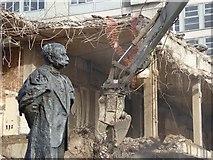 SO8554 : Sir Edward Elgar and demolition by Philip Halling