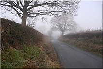 SO4386 : Wistanstow to Leamore Common Road by Richard Webb