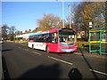 SJ9201 : Bus on Old Fallings Lane, Bushbury Hill estate (2) by Richard Vince