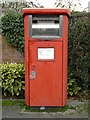 SO9133 : Letterbox for franked post by Philip Halling