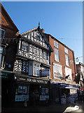 SJ6552 : Square News, High Street, Nantwich by Stephen Craven