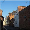 SJ6552 : Love Lane, Nantwich  by Stephen Craven