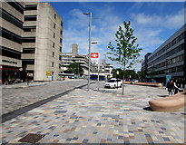 SU4112 : Semi-pedestrianised part of Blechynden Terrace, Southampton  by Jaggery
